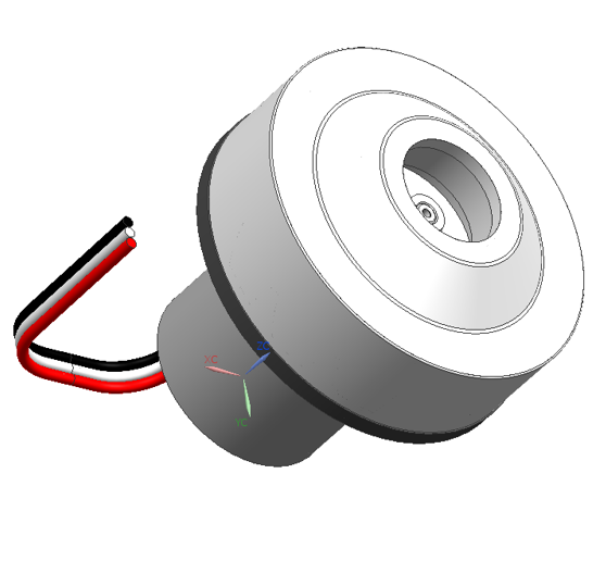 DC Permanent Magnet Brushless Motor Low Noise